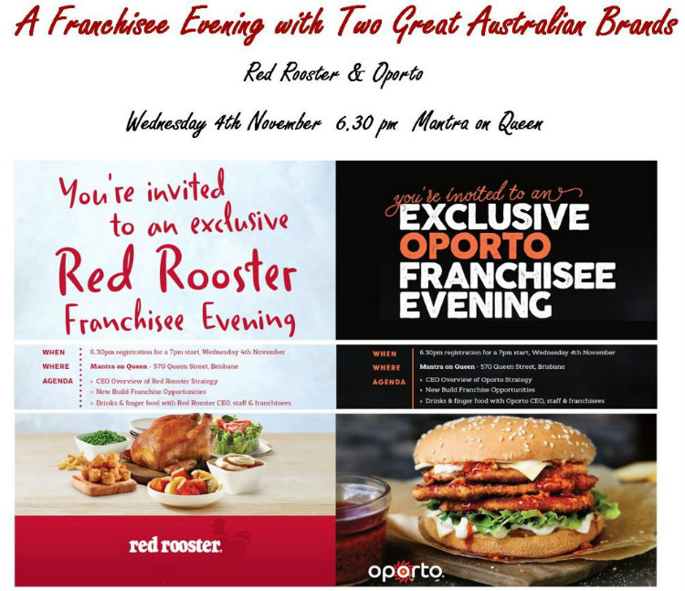 QSR Franchise evening